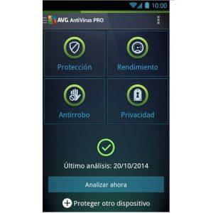 Comprar AVG AntiVirus para Android en bolivia