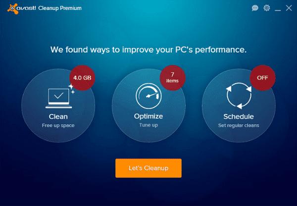Comprar Avast Cleanup premium Screenshot en bolivia