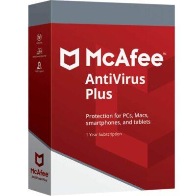 Descargar mcAfee antinirus plus